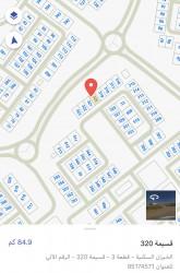 للبيع أرض بالخيران السكني قطعة 3