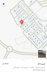 للبيع أرض شارع واحد بالخيران السكني قطعة 7